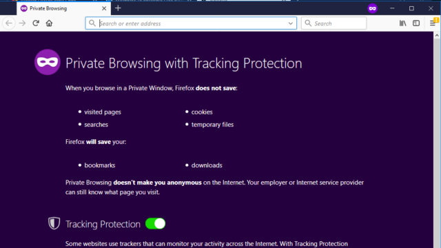 Mozilla Firefox for Windows 10 Screenshot 3