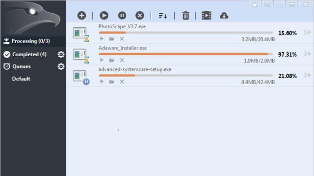 EagleGet for Windows 10 Screenshot 2