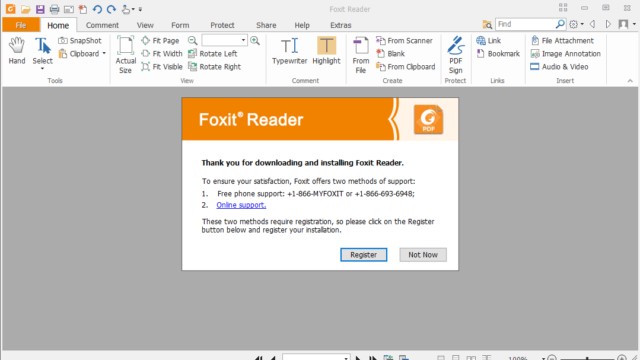 Foxit Reader for Windows 10 Screenshot 3