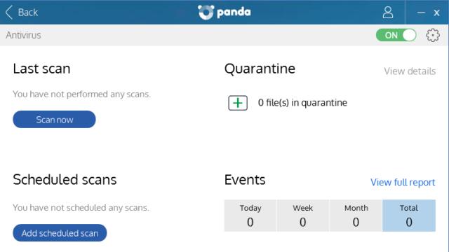 Panda Free Antivirus for Windows 10 Screenshot 3
