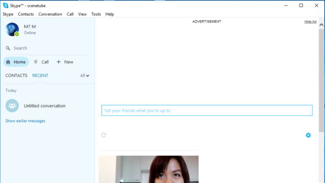 Skype for Windows 10 Screenshot 1