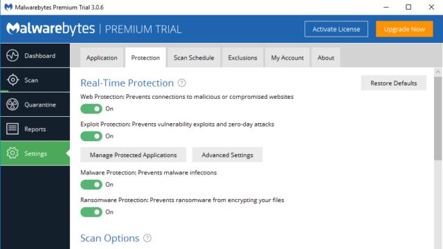 Malwarebytes for Windows 10 Screenshot 3