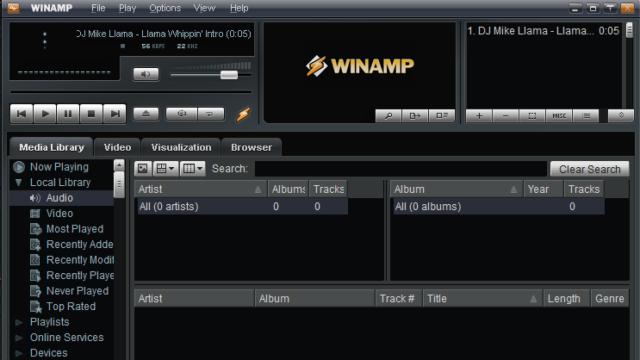 Winamp for Windows 10 Screenshot 1