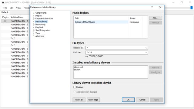 foobar2000 for Windows 10 Screenshot 3
