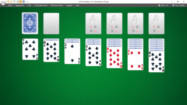 123 Free Solitaire for Windows 10 Screenshot 2