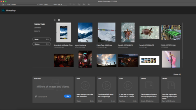 Adobe Photoshop for Windows 10 Screenshot 2