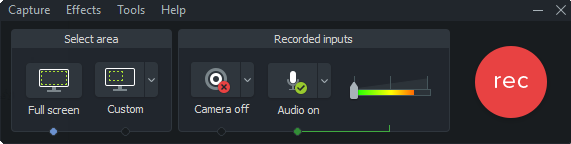 Camtasia Studio for Windows 10 Screenshot 2