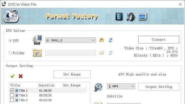 Format Factory for Windows 10 Screenshot 3