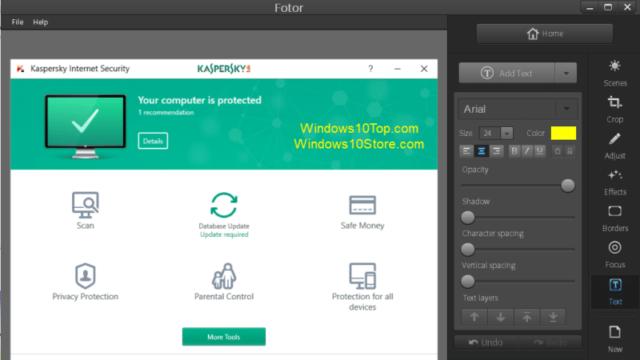 Fotor for Windows 10 Screenshot 2