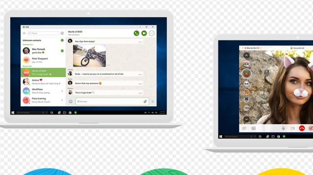 ICQ for Windows 10 Screenshot 2