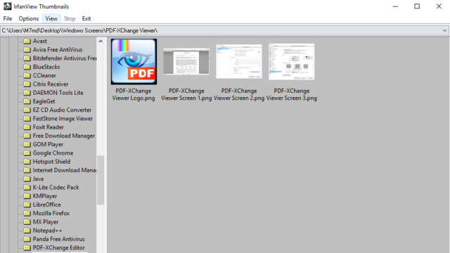 IrfanView for Windows 10 Screenshot 3