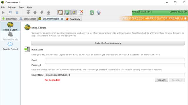 JDownloader for Windows 10 Screenshot 3