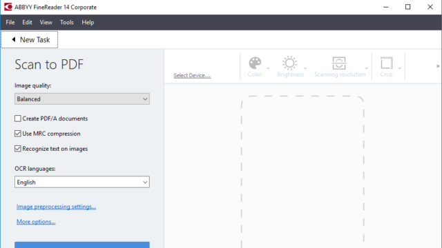ABBYY FineReader for Windows 10 Screenshot 2