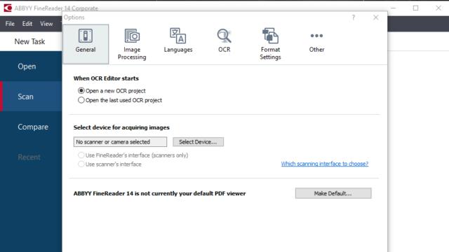ABBYY FineReader for Windows 10 Screenshot 3
