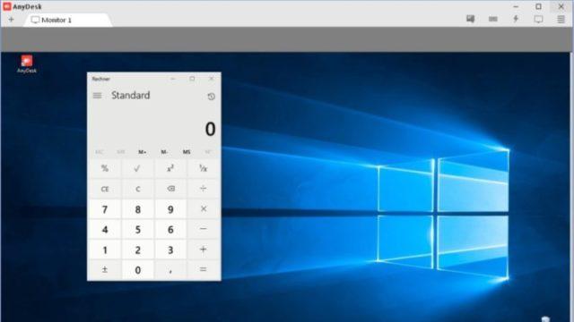 AnyDesk for Windows 10 Screenshot 2