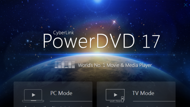 CyberLink PowerDVD for Windows 10 Screenshot 1