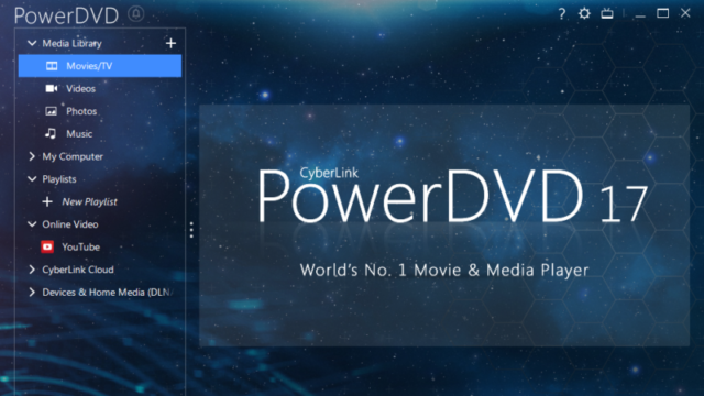 CyberLink PowerDVD for Windows 10 Screenshot 2