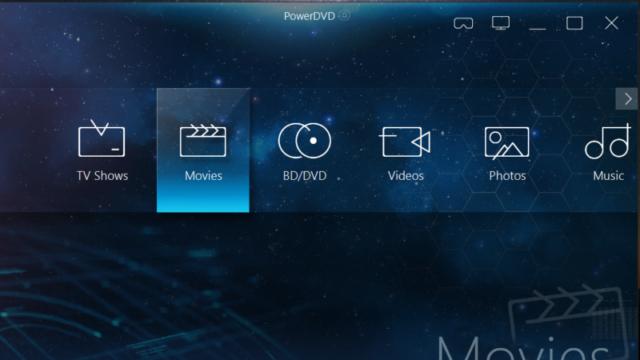 CyberLink PowerDVD for Windows 10 Screenshot 3