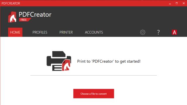 PDFCreator for Windows 10 Screenshot 1