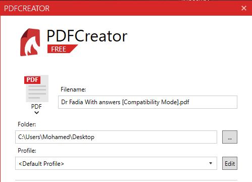 PDFCreator for Windows 10 Screenshot 2