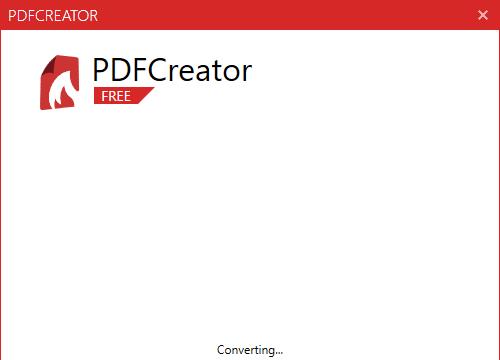 PDFCreator for Windows 10 Screenshot 3