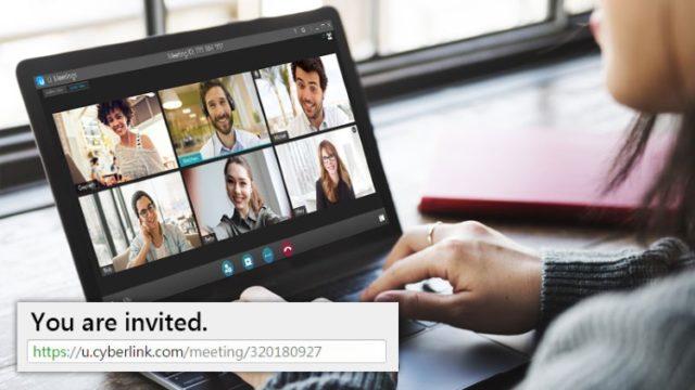 CyberLink UMeeting for Windows 10 Screenshot 3