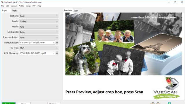 VueScan for Windows 10 Screenshot 1