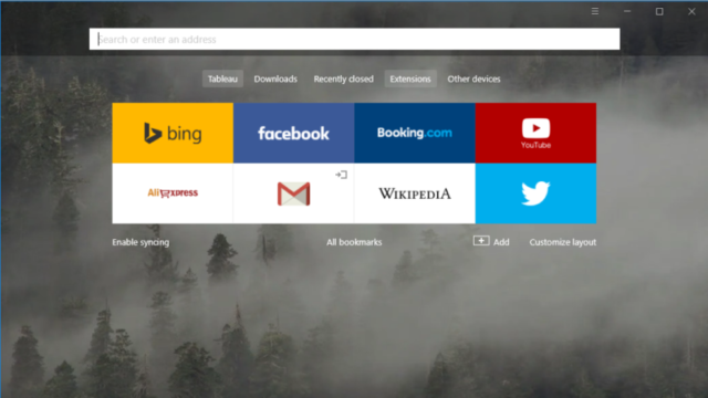 Yandex Browser for Windows 10 Screenshot 1