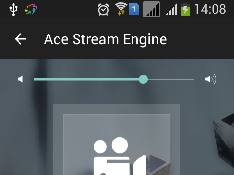 Ace Stream for Windows 10 Screenshot 1