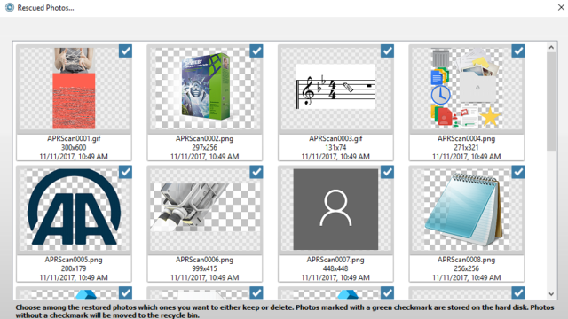 Ashampoo Photo Recovery for Windows 10 Screenshot 2
