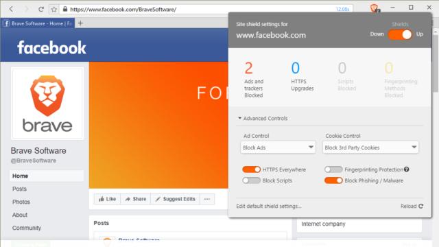 Brave Browser for Windows 10 Screenshot 2