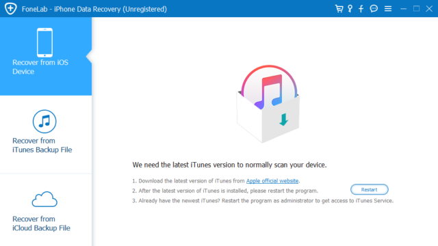 Download FoneLab iPhone Data Recovery (64/32 bit) for Windows 10 ...