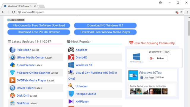 Iridium Browser for Windows 10 Screenshot 1