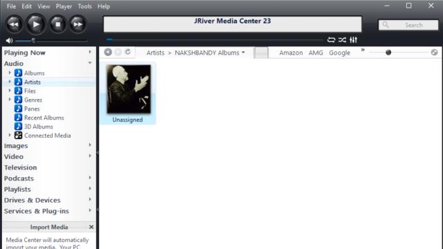 JRiver Media Center for Windows 10 Screenshot 1