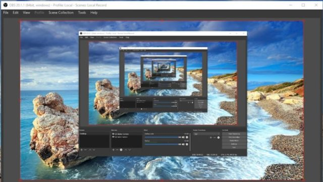OBS Studio for Windows 10 Screenshot 1