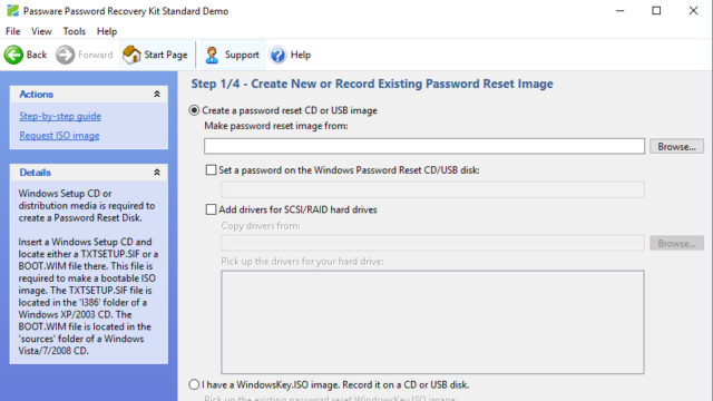 Passware Kit Standard for Windows 10 Screenshot 3