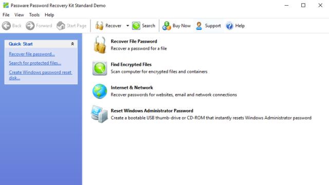 Passware Kit Standard for Windows 10 Screenshot 1