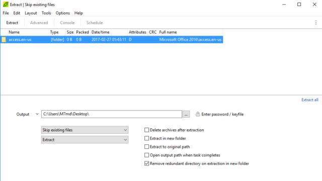 PeaZip for Windows 10 Screenshot 3
