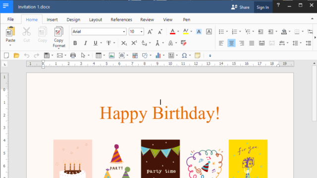 Polaris Office for Windows 10 Screenshot 2