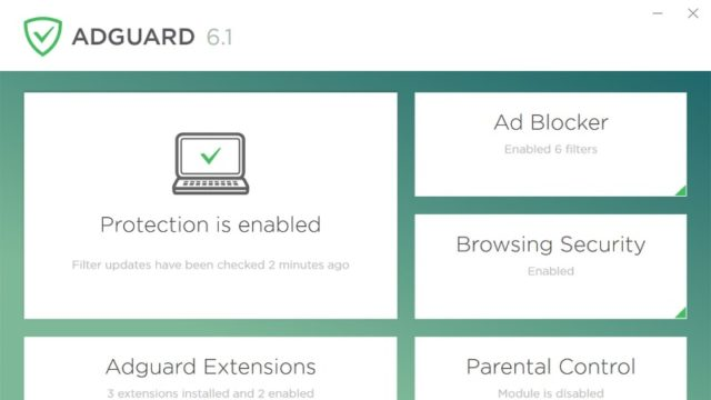 AdGuard for Windows 10 Screenshot 1