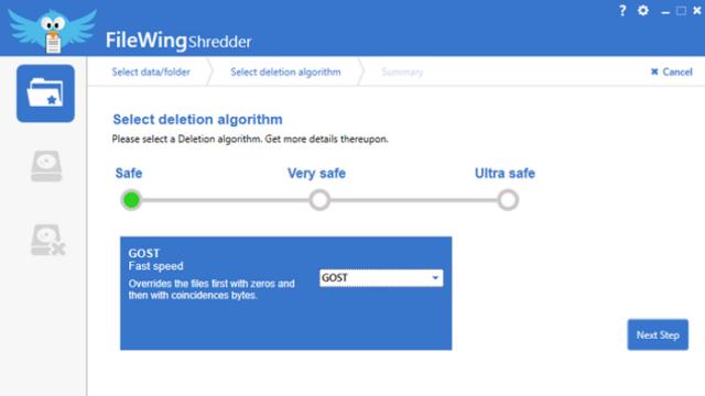 FileWing Shredder for Windows 10 Screenshot 3
