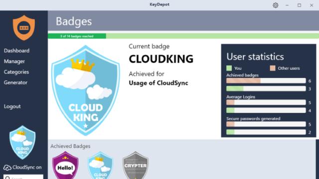 KeyDepot for Windows 10 Screenshot 1