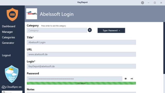 KeyDepot for Windows 10 Screenshot 3