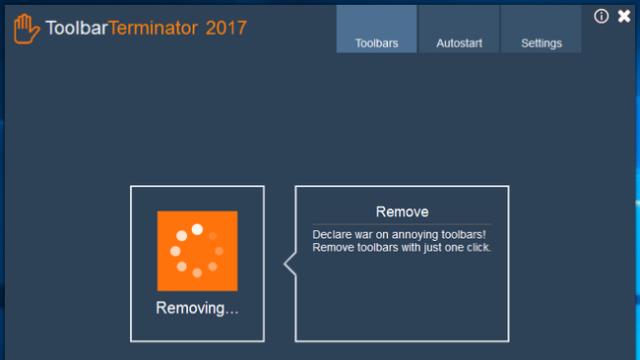ToolbarTerminator for Windows 10 Screenshot 3