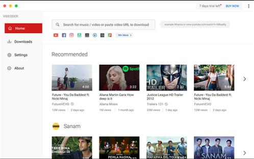 Videoder for Windows 10 Screenshot 1