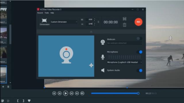 ACDSee Video Studio for Windows 10 Screenshot 2
