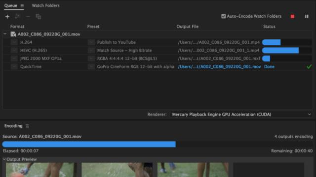 Adobe Media Encoder CC for Windows 10 Screenshot 1