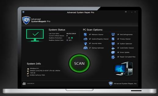 Advanced System Repair for Windows 10 Screenshot 1