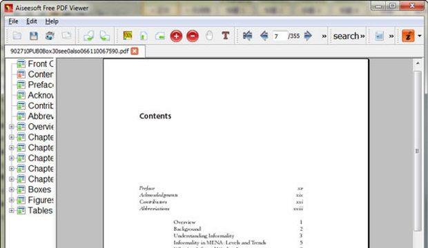 Aiseesoft Free PDF Viewer for Windows 10 Screenshot 1