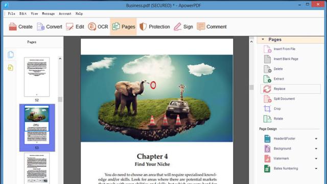 ApowerPDF for Windows 10 Screenshot 2
